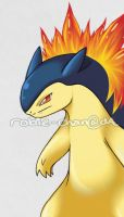 Typhlosion by Robie-Chan