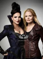 The Savior and The Evil Queen by malshania