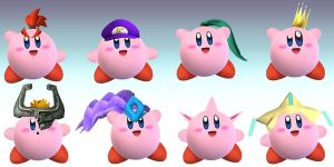 Clash Kirby Hats 1 by clammin910