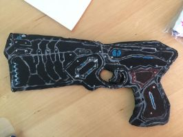 PSYCHO-PASS Dominator by jhese25