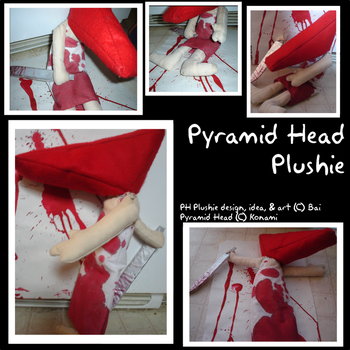 Pyramid Head Plushie by ThexIcexQueen