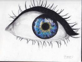 Sketchbook- eye by BreannaE
