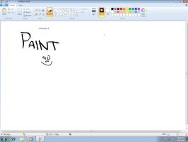 Windows 7 Paint by jakubblaz