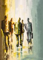 men in gray No.1 by Micko-vic