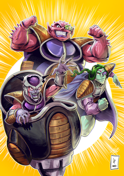 Freeza Elite by KarolyneRocha