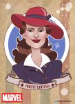 Agent Carter Hayley Atwell Caricature by edwinj22