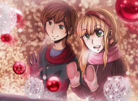APH- Spain and Belgium's Christmas by NeoSailorCrystal
