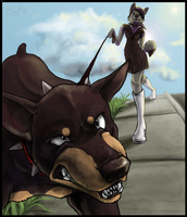 Walkin' the Big Dogs by colonel-strawberry