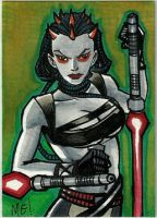 Maris Brood ACEO sketch card by MasonEasley