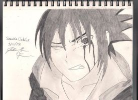 Sasuke Uchiha by rosethorns90