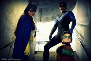 Superheroes - Family by seethroughcrew