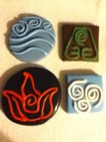 The Four Nations Clay Creations by TigerLily601