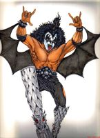 gene simmons by inkinblood