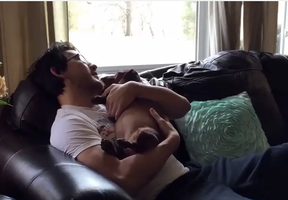 Markimoo with a puppy <3 by EETay99