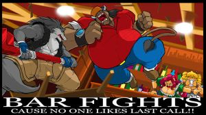 Brawl at the Brickhouse Pub by ShoNuff44