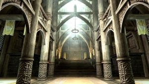 Dragonsreach Hall by Conn1321