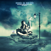 MUSIC  IS MY LIFE by Durajet