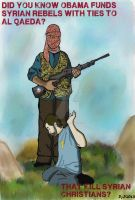 Obama Funds Syrian Rebels That Kill Christians by ArtNGame215