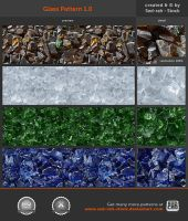 Glass Pattern 1.0 by Sed-rah-Stock