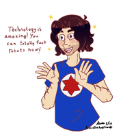 Danny Sexbang sketch by Rose-McSugar