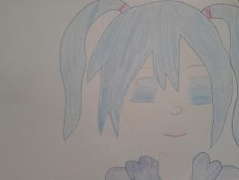 Trying anime drawing ^^ by Teranovia