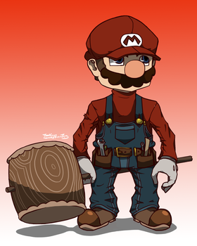 New Super Mario by Marios-Tri4ce