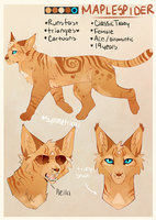 Maplespider - Reference by MapleSpyder