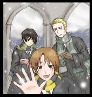 Axis Powers: Hogwarts by TheIronWillAlchemist