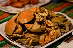 Steamed Crabs by aheria