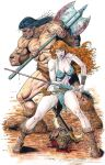 Conan and Red Sonja by skeel76