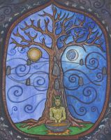 celtic tree of life by hawkmeister