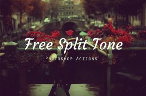 Free Split Tone Photoshop Actions by symufa