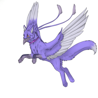 Gryphon by JetraCrowsFeather