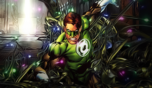Green Lantern by RawrT-Rex