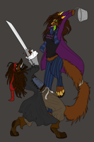 Buckets Ahoy!- Collaboration WIP by Serphire