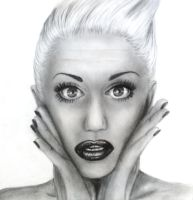 Gwen Stefani by Crystalcoomber