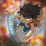 Chibi The Luffy by KidiMaster