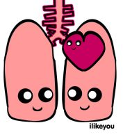 Lungs design for ilikeyou by DeathByDesign06