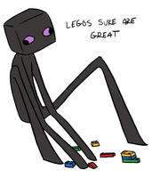 MC - Enderbro's LEGOs by In-Tays-Head