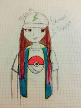 Pokemon trainer by anoukvader