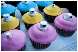 Graffiti Cupcakes by Igasm