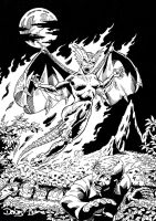 Dragon Fire by Don Davis by dondalier