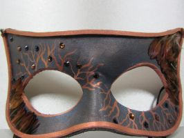Owl inspired mask by maskedzone
