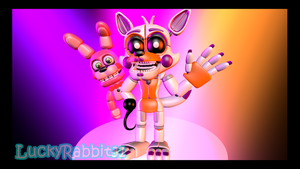 [SFM] Adventure Funtime Lolbit w/ Adventure Bonnet by LuckyRabbit31