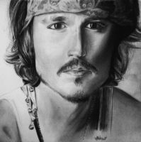 Johnny Depp by Jasminela