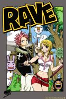 Fairy Tail - Natsu and Lucy Rave cosplayers by ChristianStrange3