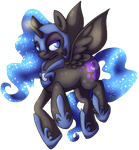 Nightmare Moon by xNIR0x