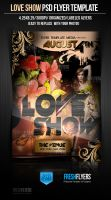Love Show Party Flyer Templates by ImperialFlyers