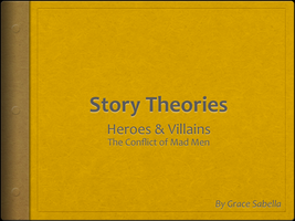 Story Theories: The Hero and Villain Duel by illuminara