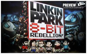 LP 8Bit Rebellion Wallpaper by Overkill766